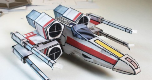 Blog_Paper_Toy_papertoy_X-Wing_Fighter_Al_Macdonald