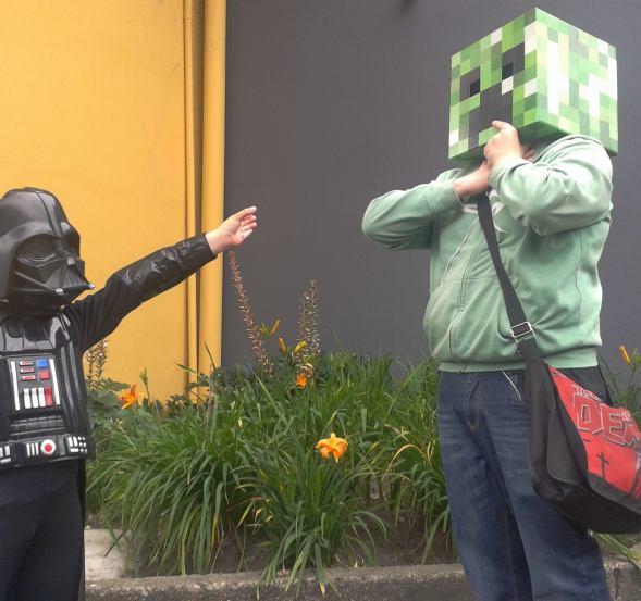 Darth Vader Boy 1