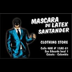 Mascara de latex Santander