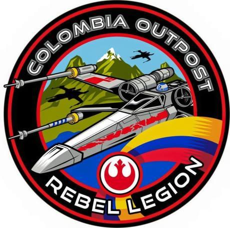 Logo Rebel legion Outpost Colombia