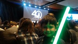 Alejo, listo para el panel del Aniversario 40