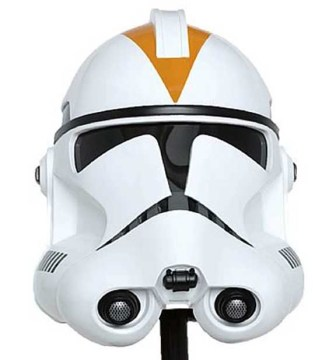 Master Replicas Clone Trooper Helmets Clone Trooper   Commander Gree