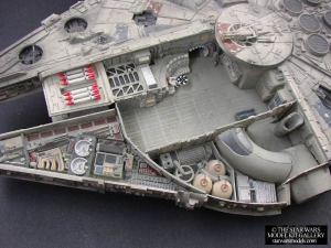 Millennium Falcon Cutaway 158 Plastic AMTERTL Model Kit  starwarsmodels  The Star Wars