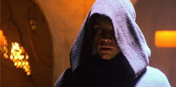 Image result for luke skywalker return of the jedi hood
