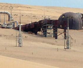 Des vaporateurs d'humidité sur le tournage de la Star Wars Story sur Han Solo à Fuerteventura