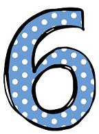 number 6 1