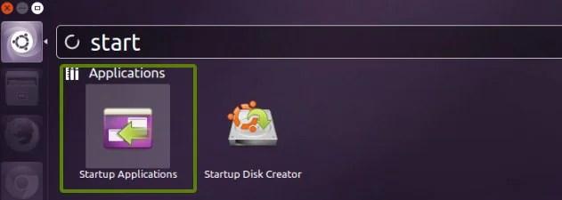 start up application Ubuntu 13.10
