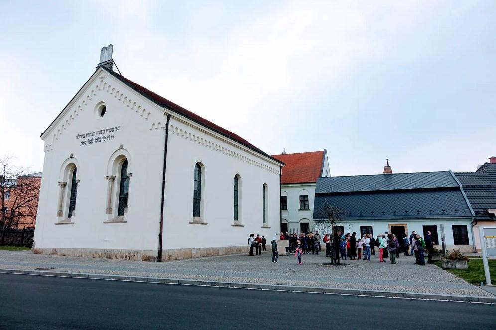 Výlet SOS - židovská synagoga
