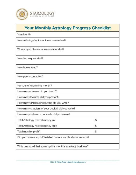Your Monthly Astrology progress Checklist-page-001