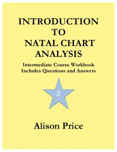 Introduction to Natal Chart Analysis