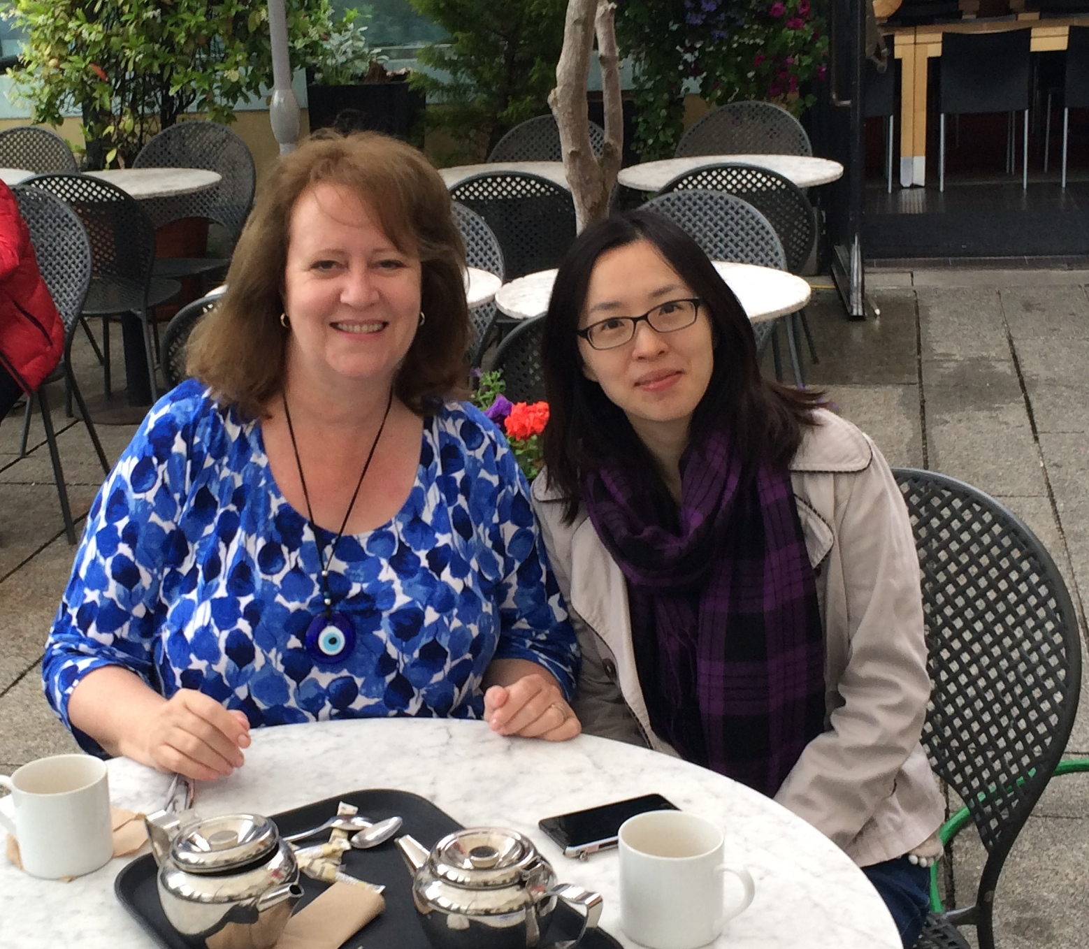 Astrology Student Visits From Hong Kong