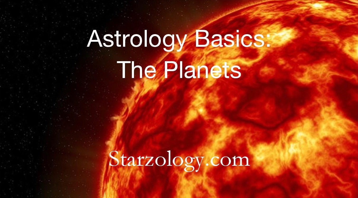 Astrology Basics The Planets Page 001 2