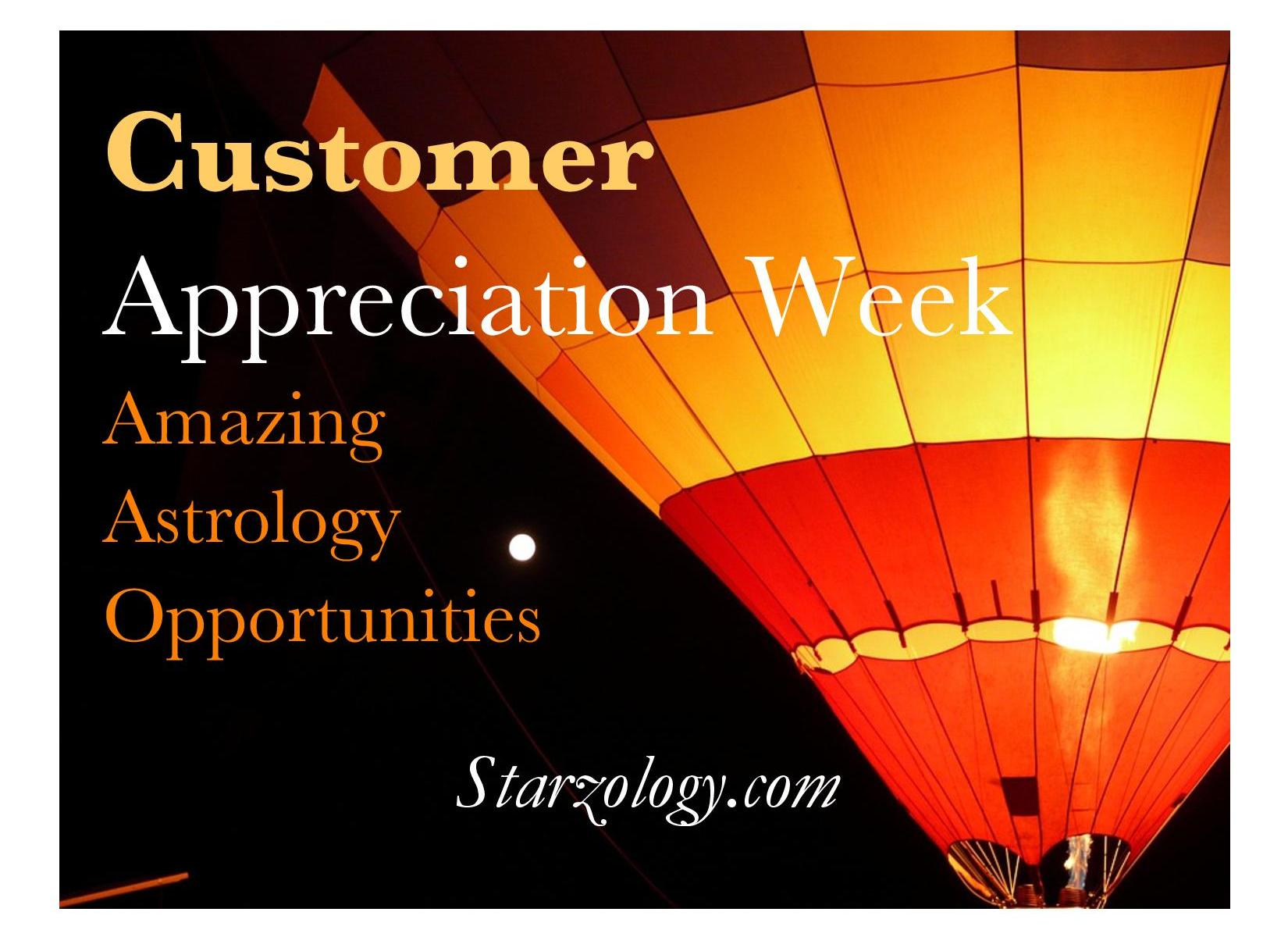 Starzology astrology with heart empowering you to achieve your customer appreciation week at starzology nvjuhfo Images