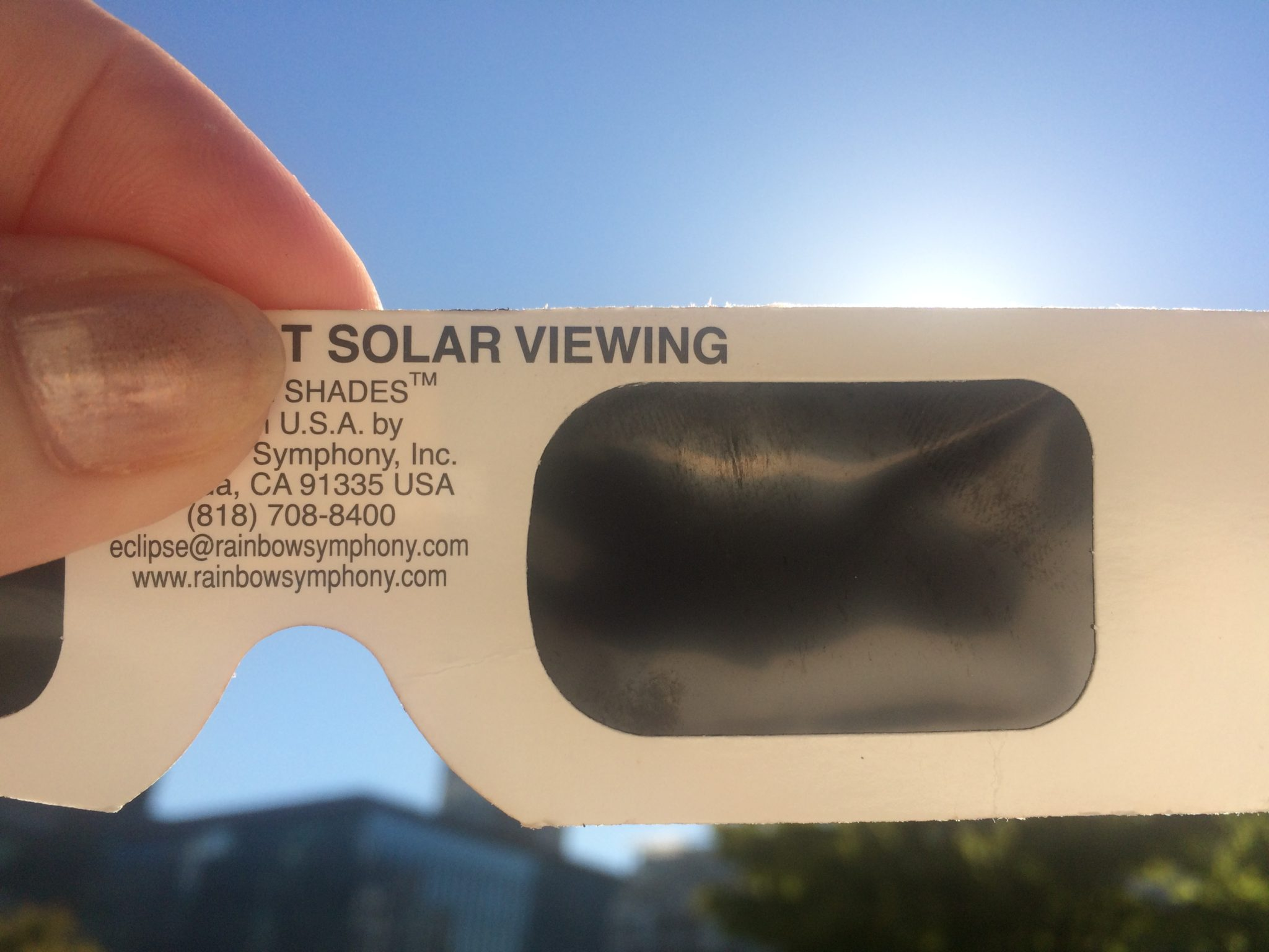Solar Eclipse Experience From Vancouver With Alison Price