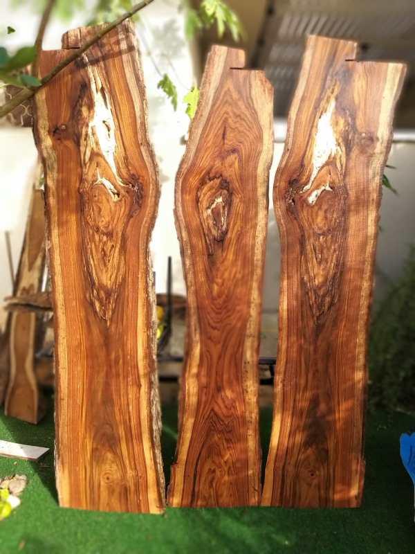 פלטות עץ סיסם הודי צורה B
