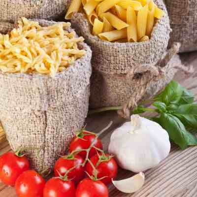 Buying dry foods in bulk will save you money & time.