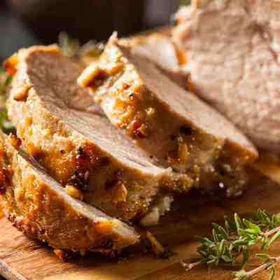 Easy Rosemary pork family dinner