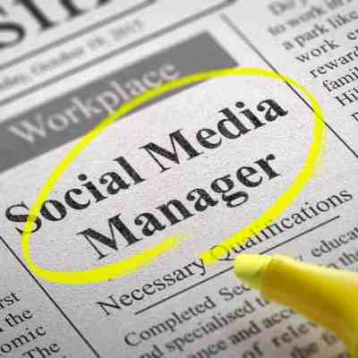 Social Media manager is a perfect job to do when your children are at school