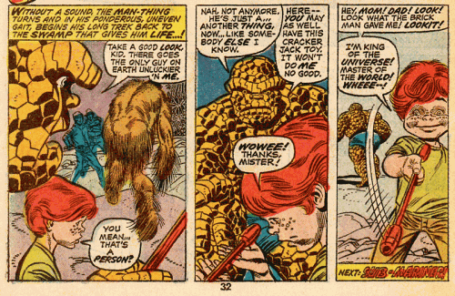 Marvel Two-In-One #1 Panel 6