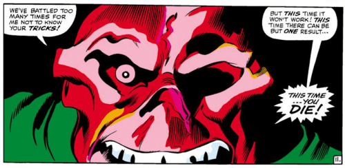 Red Skull saying die