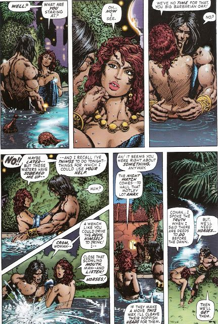 Barry Windsor-Smith and Roy Thomas, Conan #24
