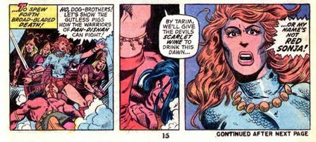 Barry Windsor-Smith and Roy Thomas, Conan #23