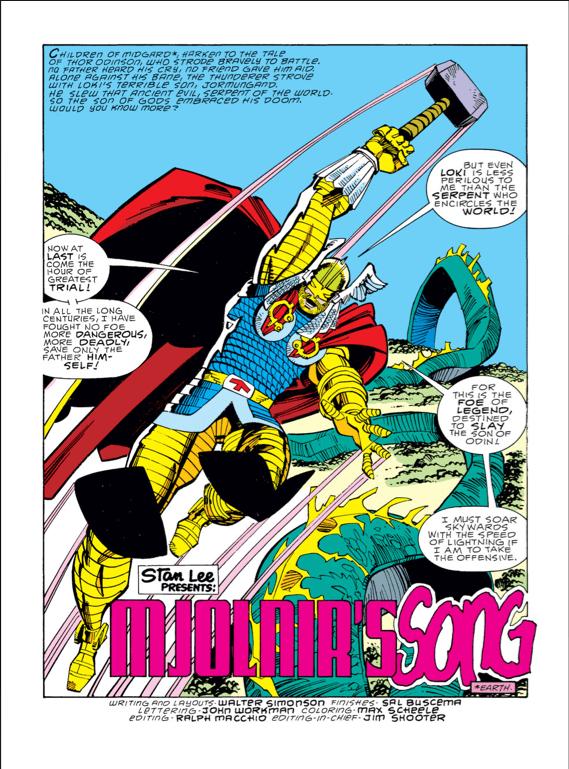 Thor #380, Walt Simonson
