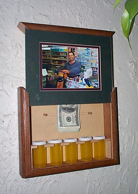 Picture Frame With Secret Stash Compartment StashVault