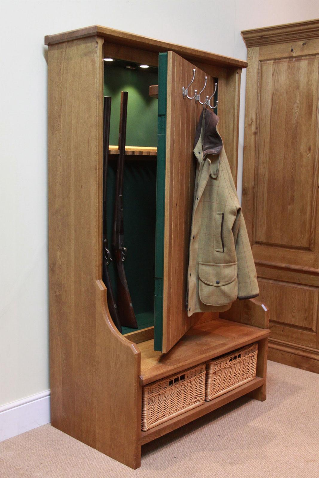 Gun Concealment Bench Furniture StashVault