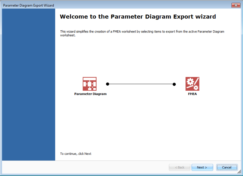 Parameter Diagram Software For Excel