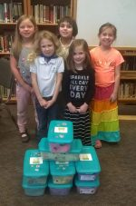 Troop 40170 made Jared Boxes for Mt. Nittany Hospital.
