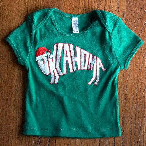 Oklahoma Bison Christmas Shirt kids