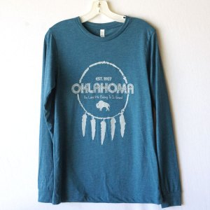 Oklahoma Dream Catcher Long Sleeve T-shirt