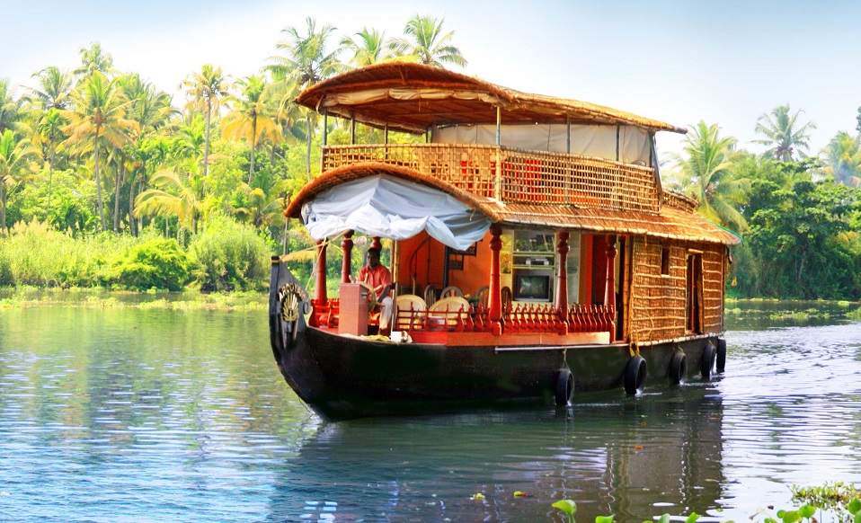 Image result for Backwaters Houseboat, Kerala