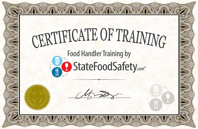 Where Can I Get Food Handlers Certificate