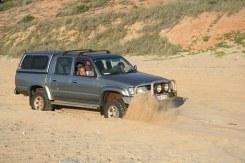 4 WD car