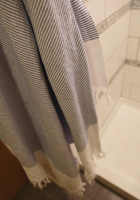 trying out turkish aka fouta or peshtemal towels stately kitsch