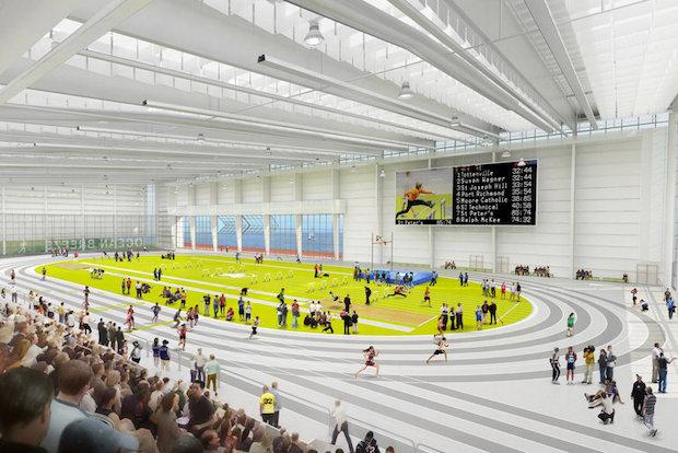 Take a Look Inside Staten Island's New M Indoor Track Center - Ocean Breeze - DNAinfo.com New York