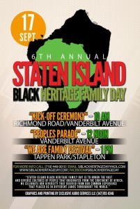 Come out and celebrate with us for the 6th Annual Staten Island Black Heritage Parade September 17th,2 016