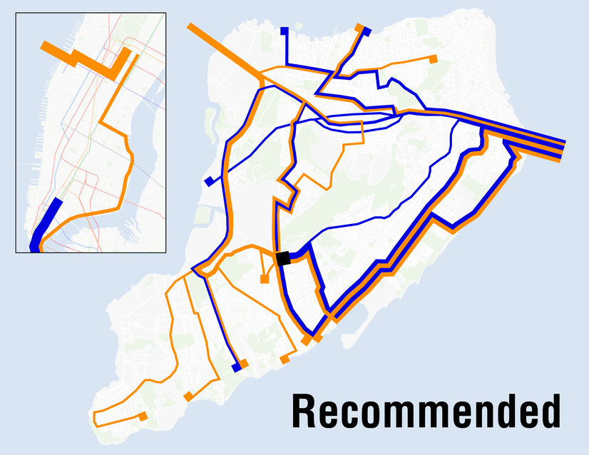 Express Bus Nyc Map.The Staten Island Express Bus Redesign Project Staten Island Relies
