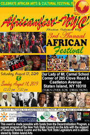 African Festival Staten Island NYC August 2019