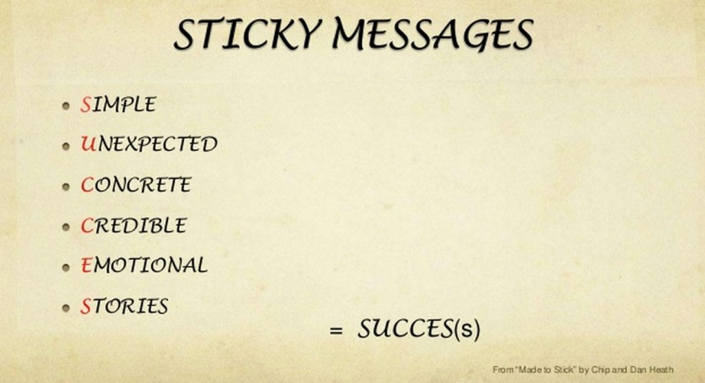 03 - Storytelling Sticky Messages
