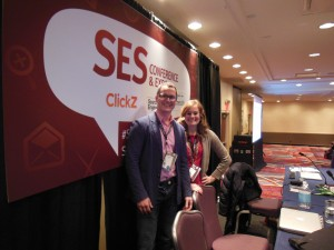 Erin and Kris at SES NY