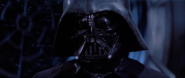 a screen cap of Darth Vader mid-decision