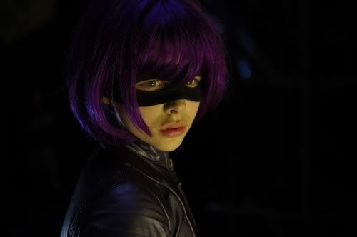 a still of Hit-Girl in costume