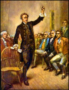 Patrick Henry Illustrates Mission