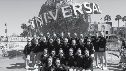 The Patriettes at the 2016 NDA competition in Orlando. They placed in the large jazz division.