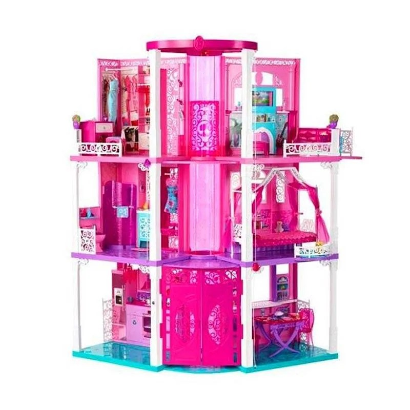 Jual Barbie Dreamhouse W Furniture Appliances 2 Elevators Original Item Online Oktober 2020 Blibli Com