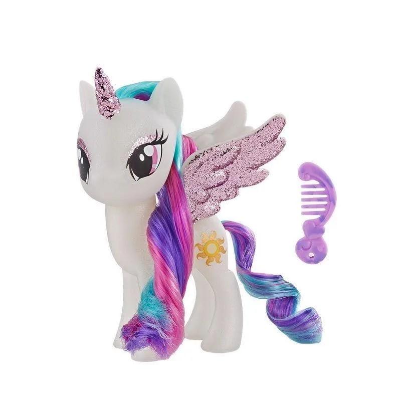 Jual My Little Pony Princess Celestia Sparkling Figure 6 Inch Online Oktober 2020 Blibli Com