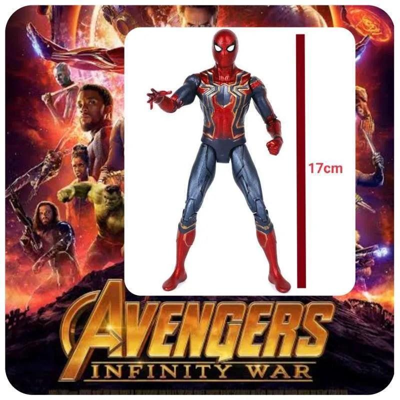 Jual Spiderman Action Figure Karakter Marvel Avenger Superhero Infinity War Murah Juni 2021 Blibli